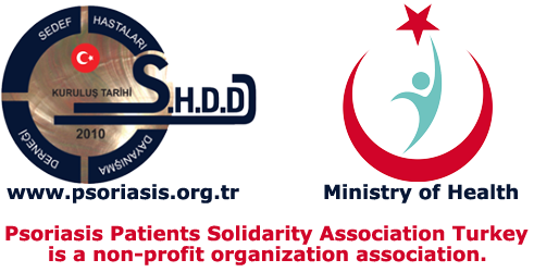 Psoriasis Patients Solidarity Association derneği logo